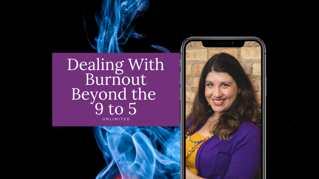 Dealing With Burnout Blog Cover