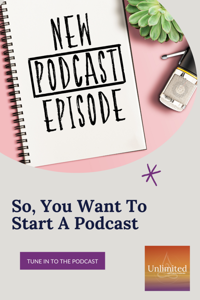So, You Want To Start A Podcast Pinterest post