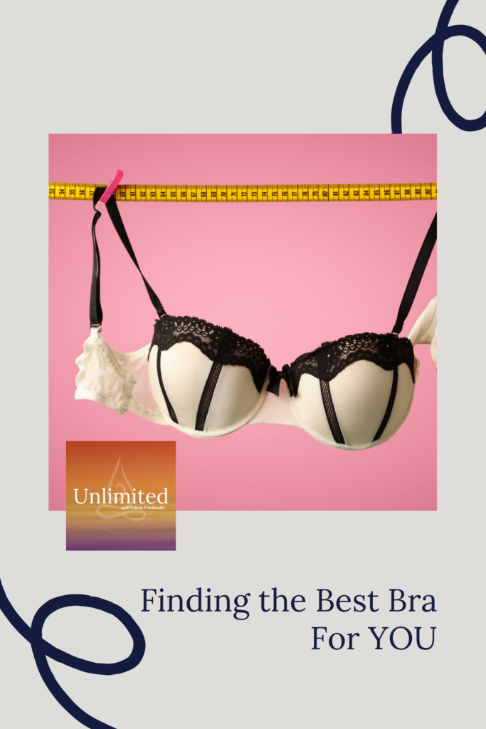 Finding the Best Bra For YOU Pinterest image
