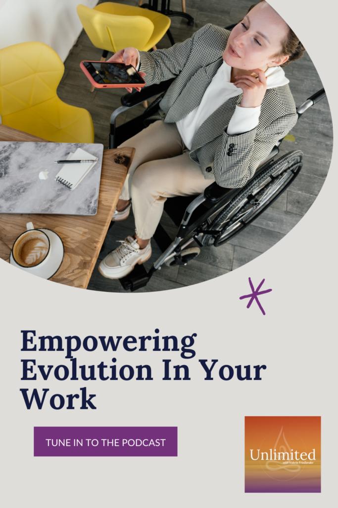 Empowering Evolution in Your Work Pinterest image