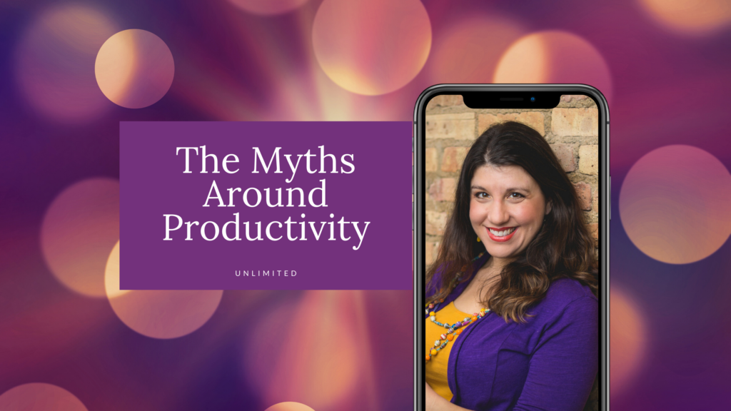 The myths around productivity blog cover image